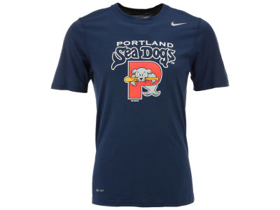Portland Sea Dogs MiLB Logo Legend T-Shirt