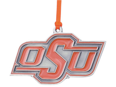 Oklahoma State Cowboys Pewter Logo Ornament
