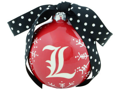 Louisville Cardinals Snowflake Ornament