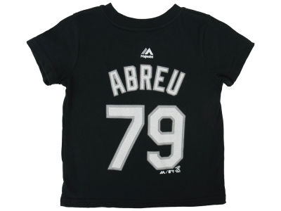 Chicago White Sox Jose Abreu Majestic MLB Toddler Official Player T-Shirt