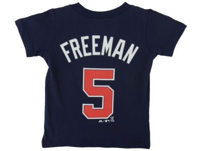 Atlanta Braves Freddie Freeman MLB Toddler Official Player T-Shirt