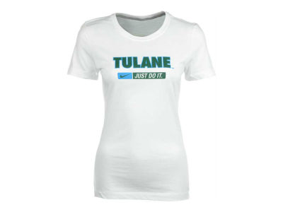 Tulane Green Wave NCAA Womens Cotton Crew T-Shirt