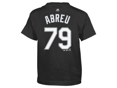 Chicago White Sox Jose Abreu Majestic MLB Kids Official Player T-Shirt