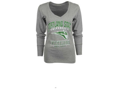 Portland State Vikings NCAA Womens Lengthy Long Sleeve T-Shirt
