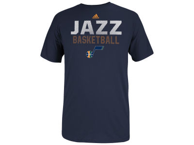 Utah Jazz adidas NBA Men's Beta Rays T-Shirt