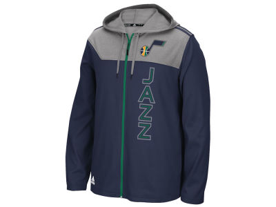 Utah Jazz adidas NBA Men's Tip-Off Full Zip Hoodie