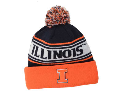 Illinois Fighting Illini Top of the World NCAA Ambient Pom Knit