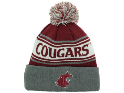 Washington State Cougars Top of the World NCAA Ambient Pom Knit