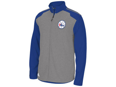 Philadelphia 76ers adidas NBA Men's Tip-Off Full Zip Jacket