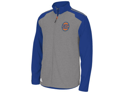 New York Knicks adidas NBA Men's Tip-Off Full Zip Jacket
