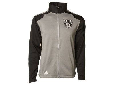 Brooklyn Nets adidas NBA Men's Tip-Off Full Zip Jacket
