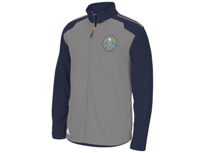 Denver Nuggets adidas NBA Men's Tip-Off Full Zip Jacket