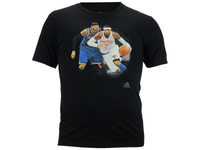 New York Knicks Carmelo Anthony adidas NBA Men's Epic Rival T-Shirt