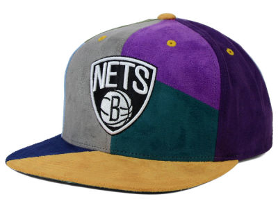 Brooklyn Nets Mitchell and Ness NBA The Craze Cut & Sew Snapback Hat