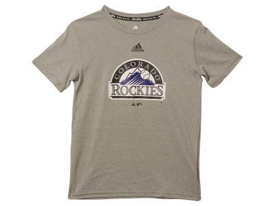 Colorado Rockies MLB Youth Team Logo Climalite T-Shirt