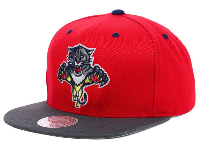 Florida Panthers Mitchell and Ness NHL XL Reflective 2T Snapback Cap