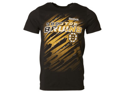 Boston Bruins Reebok NHL Men's TNT Deflect T-Shirt
