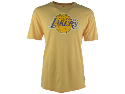 Los Angeles Lakers adidas NBA Bigger Better Logo Triblend T-Shirt