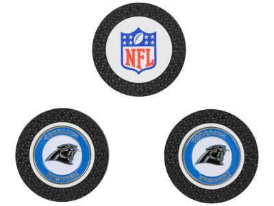 Carolina Panthers Golf Poker Chip Markers 3 Pack