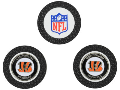 Cincinnati Bengals Golf Poker Chip Markers 3 Pack