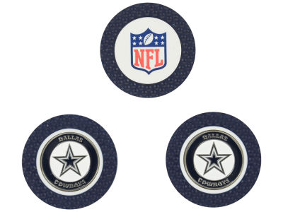 Dallas Cowboys Golf Poker Chip Markers 3 Pack