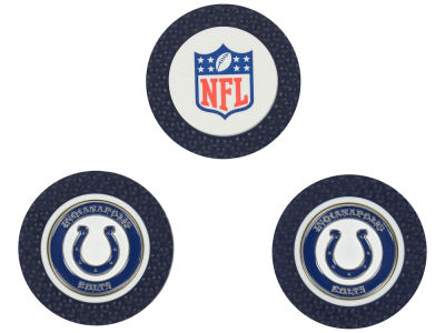 Indianapolis Colts Golf Poker Chip Markers 3 Pack