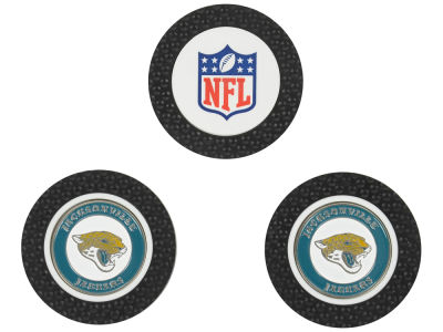 Jacksonville Jaguars Golf Poker Chip Markers 3 Pack