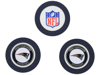New England Patriots Golf Poker Chip Markers 3 Pack