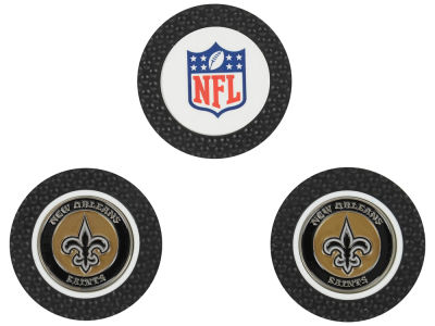 New Orleans Saints Golf Poker Chip Markers 3 Pack