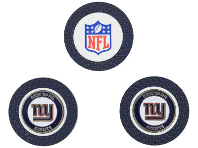 New York Giants Golf Poker Chip Markers 3 Pack