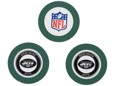 New York Jets Golf Poker Chip Markers 3 Pack
