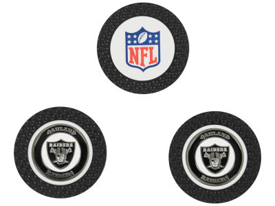 Oakland Raiders Golf Poker Chip Markers 3 Pack