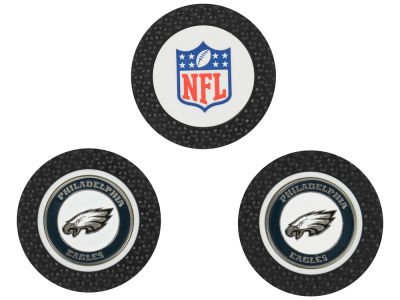 Philadelphia Eagles Golf Poker Chip Markers 3 Pack