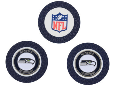 Seattle Seahawks Golf Poker Chip Markers 3 Pack