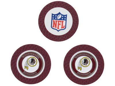 Washington Redskins Golf Poker Chip Markers 3 Pack