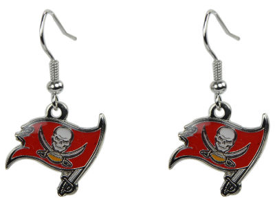 Tampa Bay Buccaneers Logo Earrings
