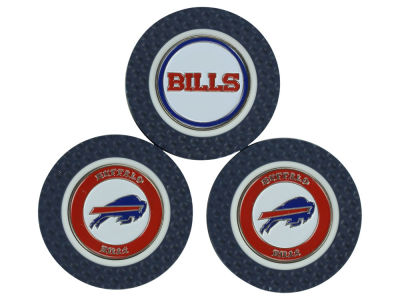 Buffalo Bills Golf Poker Chip Markers 3 Pack