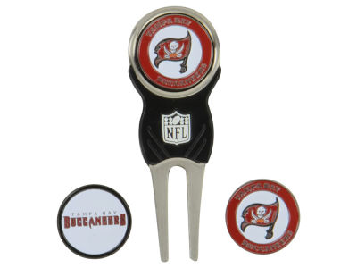Tampa Bay Buccaneers Divot Tool and Markers