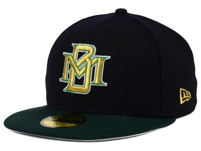 Milwaukee Brewers New Era MLB Cooperstown 59FIFTY Cap