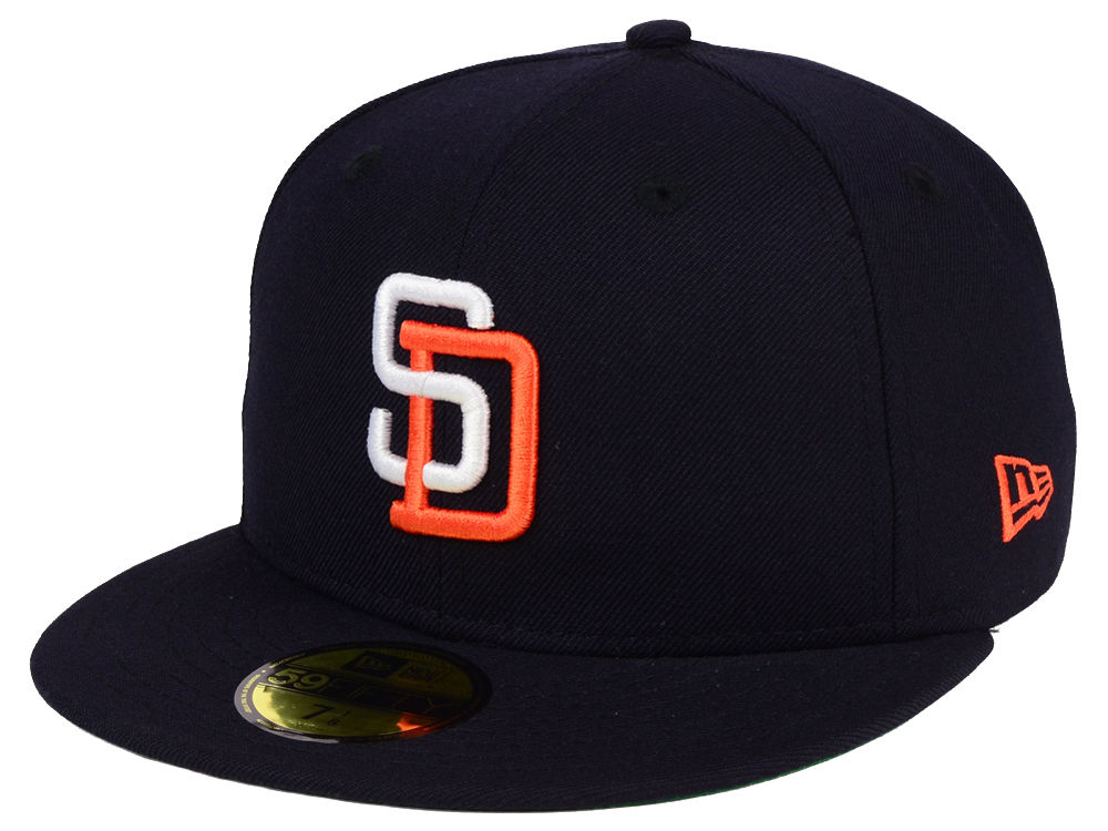 San Diego Padres New Era MLB Cooperstown 59FIFTY Cap  25a04f8fd279