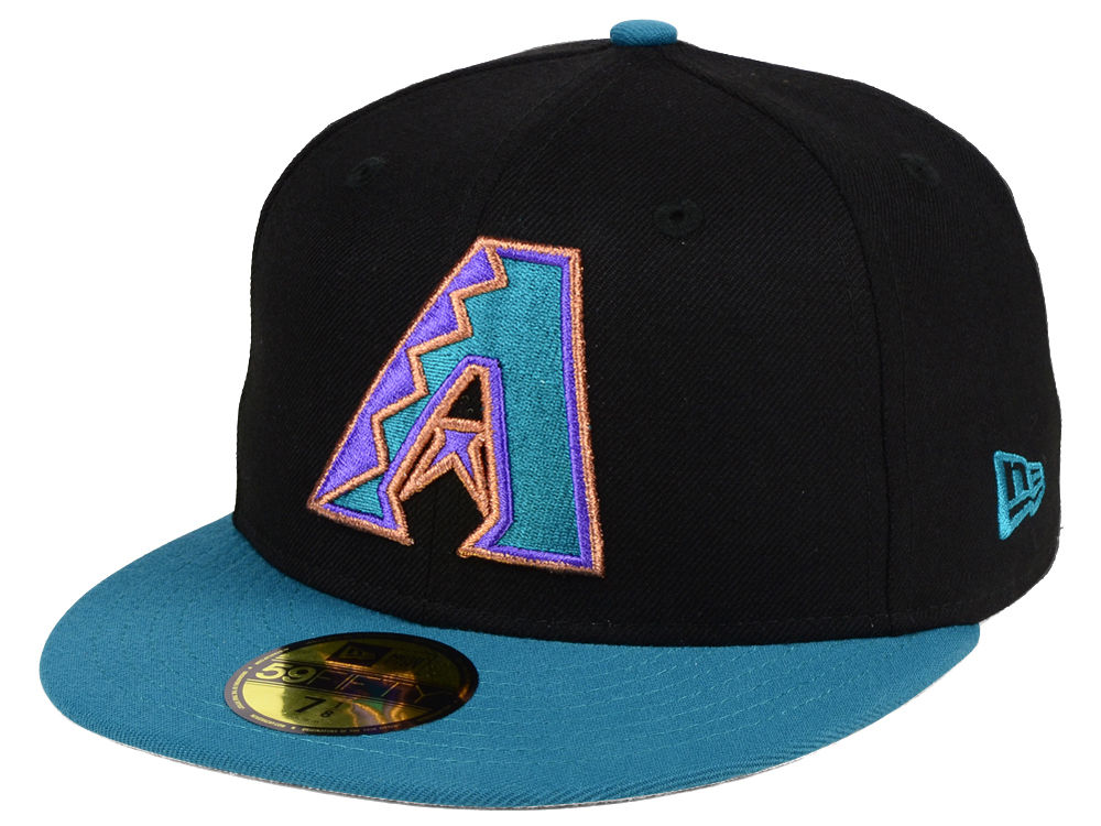 Arizona Diamondbacks New Era MLB Cooperstown 59FIFTY Cap  717e2abbd01