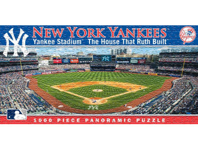 New York Yankees Panoramic Stadium Puzzle