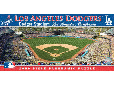 Los Angeles Dodgers Panoramic Stadium Puzzle