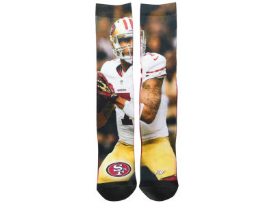 San Francisco 49ers Colin Kaepernick Player Mesh Crew Sock