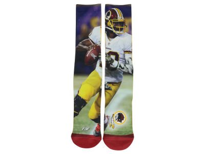 Washington Redskins Robert Griffin III For Bare Feet Player Mesh Crew Sock