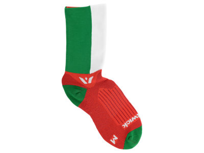 Italy Flag Swiftwick Socks