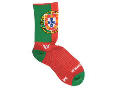 Portugal Flag Swiftwick Socks