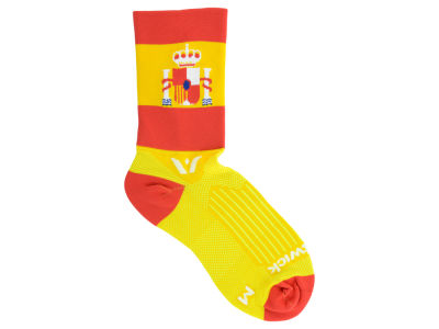 Spain Flag Swiftwick Socks