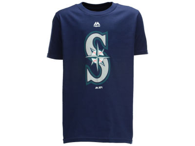 Seattle Mariners MLB Youth Primary Logo T-Shirt