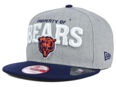 Chicago Bears New Era NFL Property of Snap 9FIFTY Snapback Cap